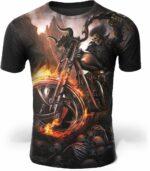 Demonic Motorcycle T-Shirt