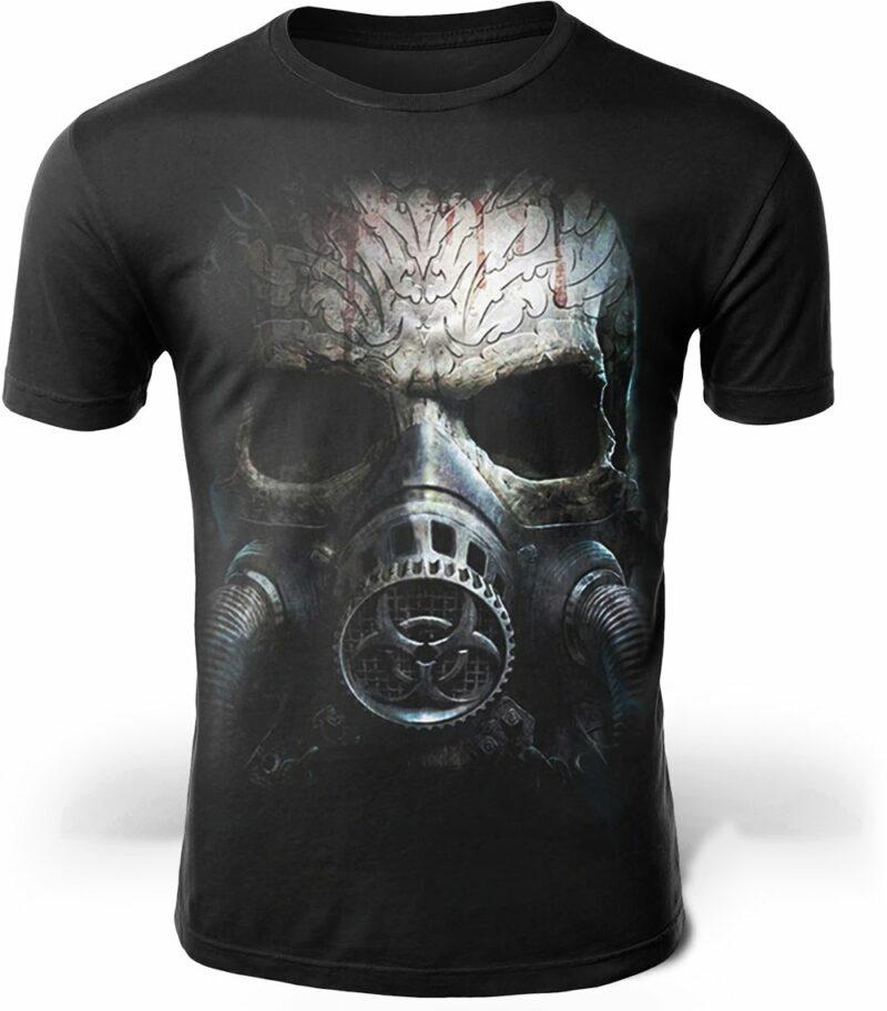 Skull Gas Mask T-Shirt