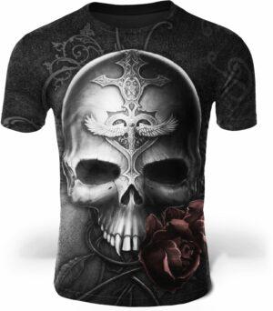 Flaming Gothic T-Shirt