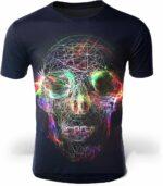 Multicolored Skull T-Shirt