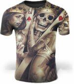 Skeleton in Love T-Shirt