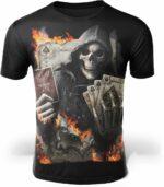 Skeleton Card T-Shirt