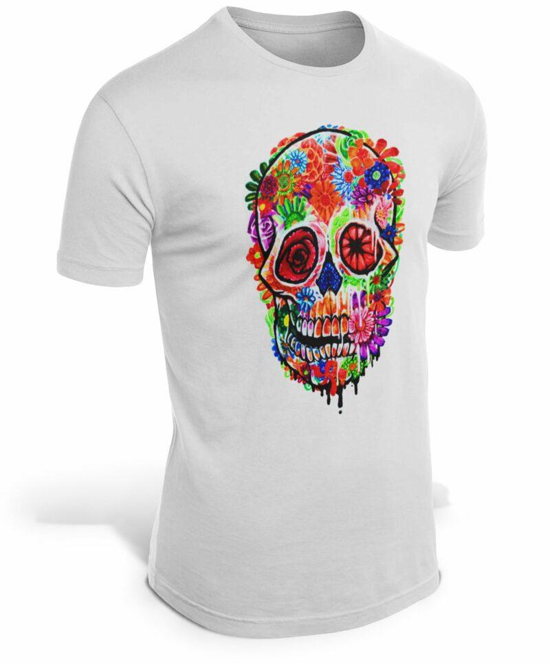 Hippie Skull T-Shirt