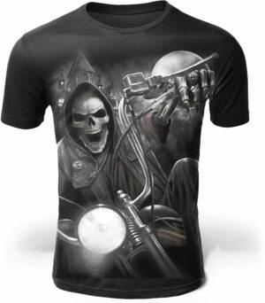 Biker Design T-Shirt