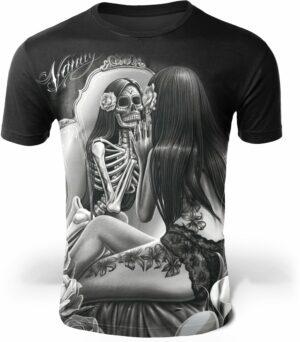 Black and White Skeleton T-Shirt