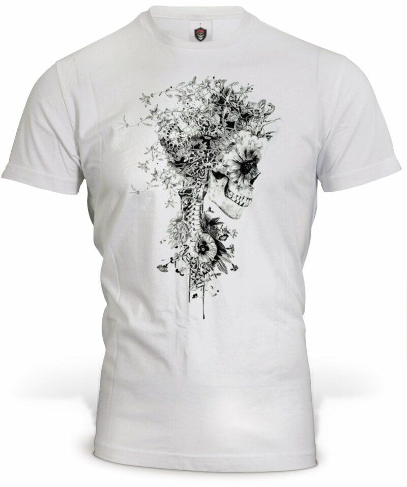 Skeleton Flower T-Shirt