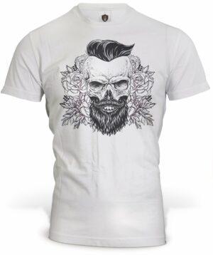 Skull Bearded T-Shirt