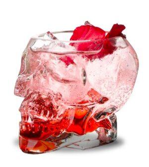 Skull Cocktail Glass