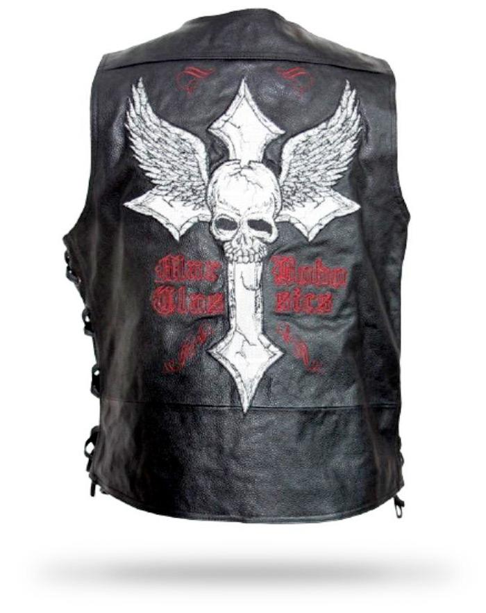 Skull Jacket Man